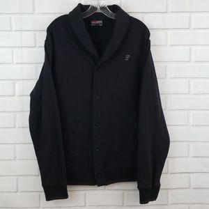 South Pole Shawl Collar 5 Button Cardigan Sweater